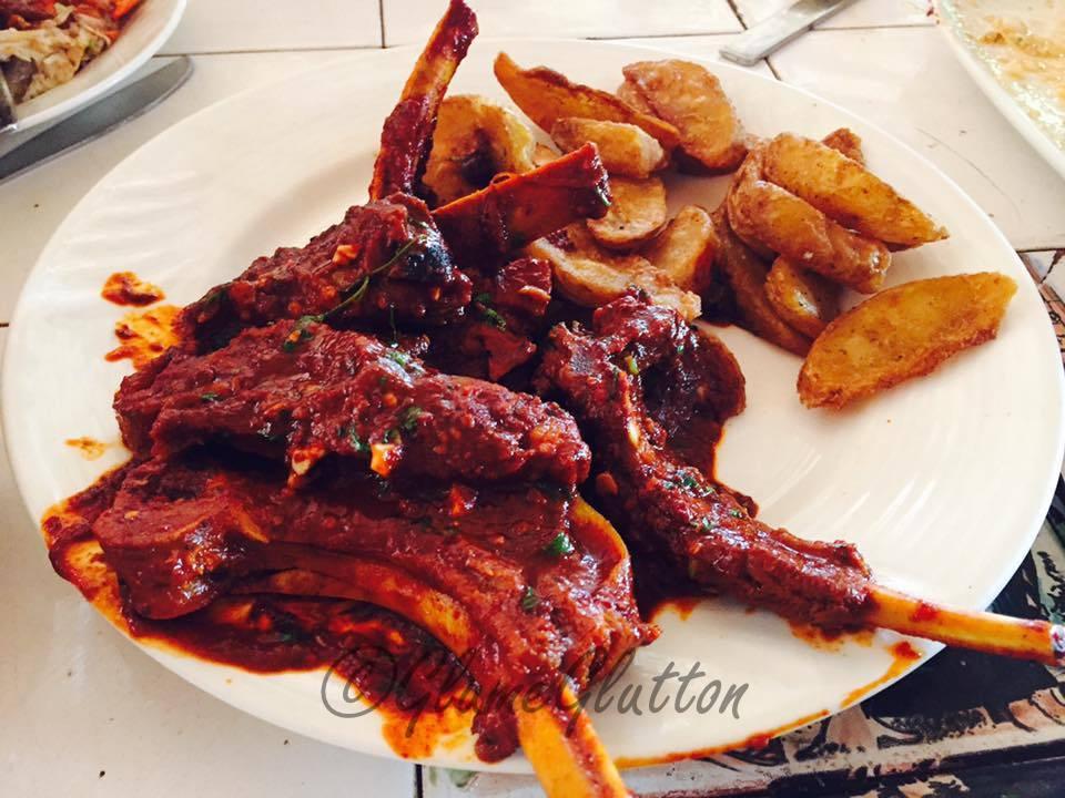 Goan pork chops